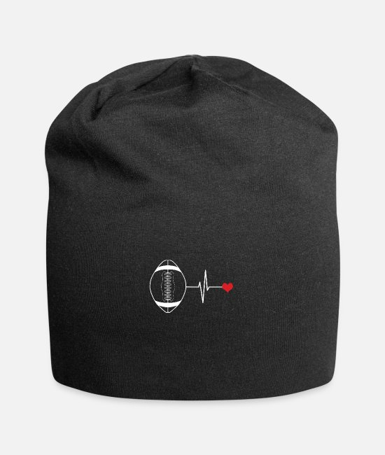Training Casquettes et bonnets - Football offensif: but offensif de football américain - Beanie noir