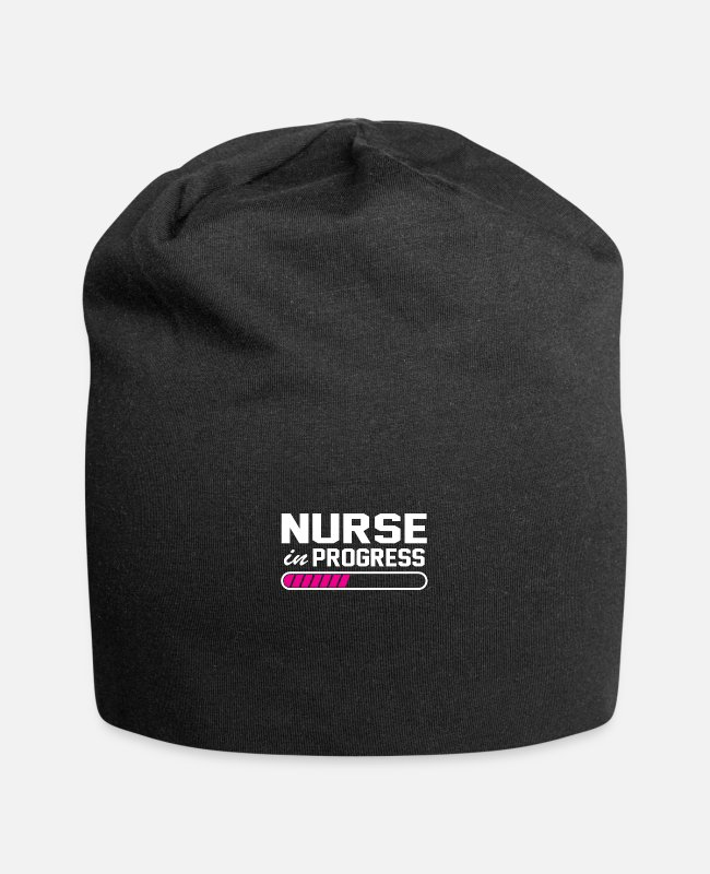 Bless You Caps & Hats - Nurse hospital - Beanie black