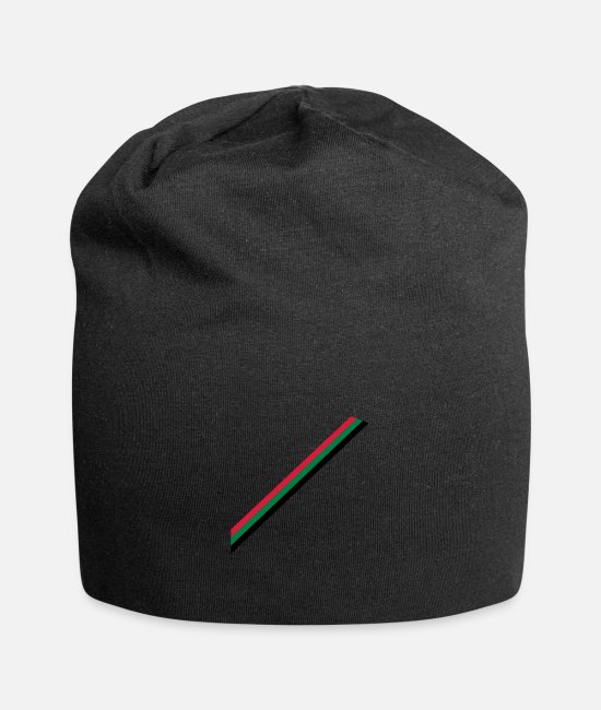 Line Caps & Hats - country colours - Beanie black