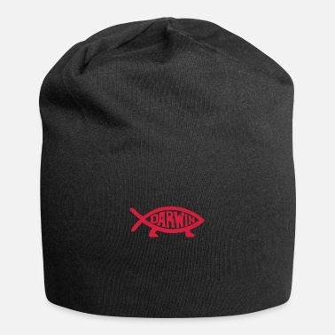 Evolution Fish Darwin Fish - Beanie