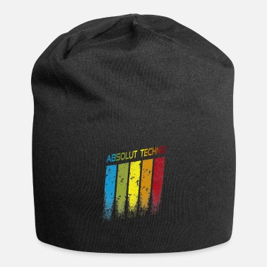 Absolut Techno Equalizer Bunt Electro Music - Beanie