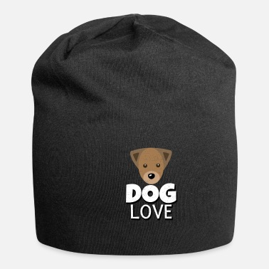 I Heart I love dog animal pet dogs cute gift - Beanie