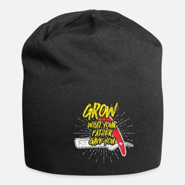 Rapper Beard barber man gift idea - Beanie