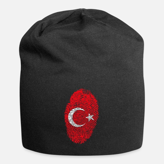Turk Caps & Hats - proud to be a turk - Beanie black
