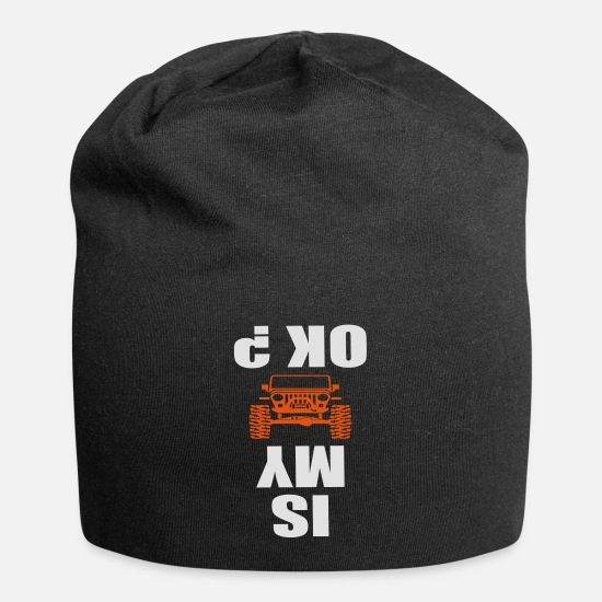 Jeep Caps & Mützen - is my jeep ok - Beanie Schwarz