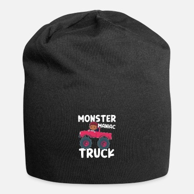 Cliff Monster Maniac Truck Big Wheels Driver Girls Gift - Beanie