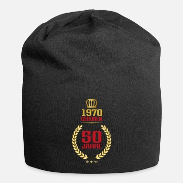 Trendy 50th birthday years gift birthday honor day - Beanie
