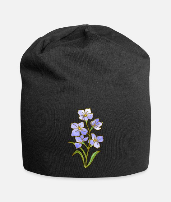 Occasion Caps & Hats - flowers - Beanie black