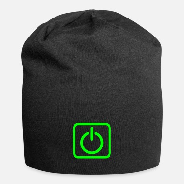 Key-button Power Button Start Key power button icon button - Beanie