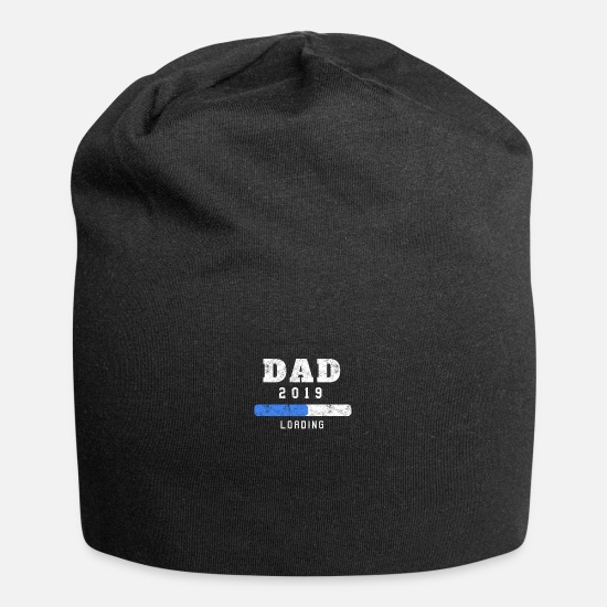 New Father Caps & Hats - Mens New Dad Loading 2019 - Funny Pregnancy - Beanie black