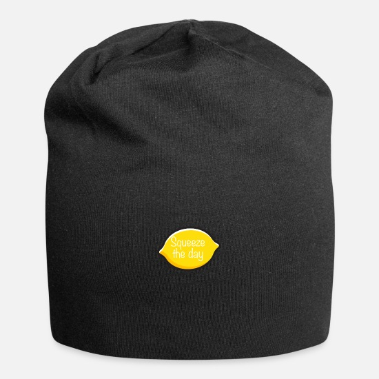 Love Caps & Hats - Squeeze the day - Beanie black