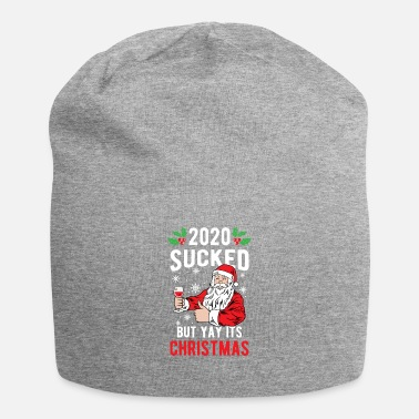 Christmas Christmas 2020 Sucked Funny Santa Claus Holiday - Beanie