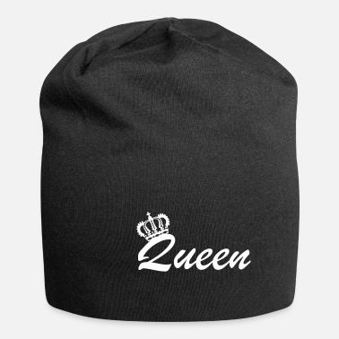 Royalty Queen Crown Queen Partner ser kunglig presentidé - Beanie