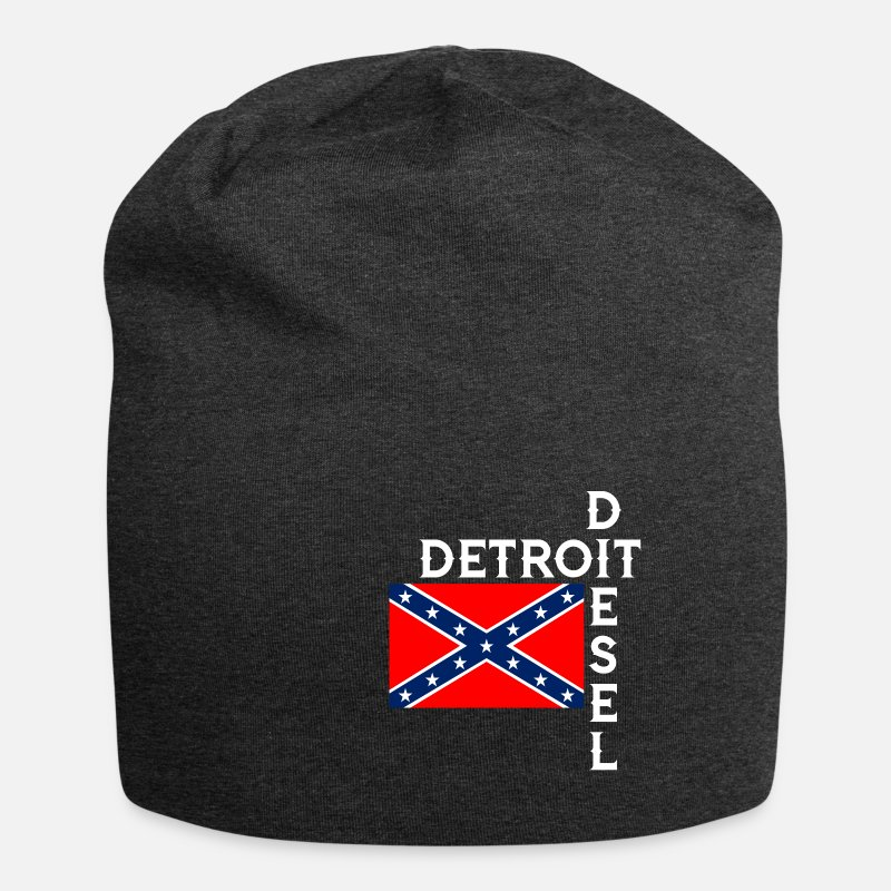 99a16f128ac Detroit diesel with Confederate flag Beanie