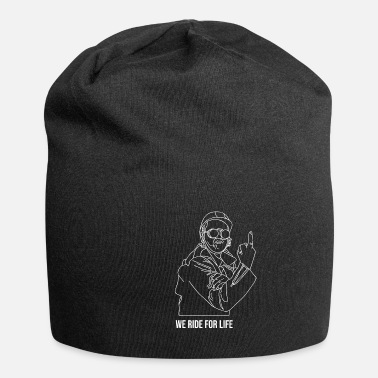 Motorcycle Middle Finger Motorcycle Club Festival Gift - Beanie
