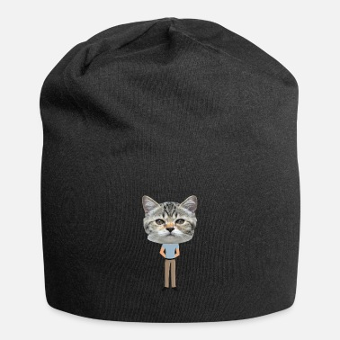 Cat Cat Funny Ugly Ha Sslich Grappige grappige grum - Beanie