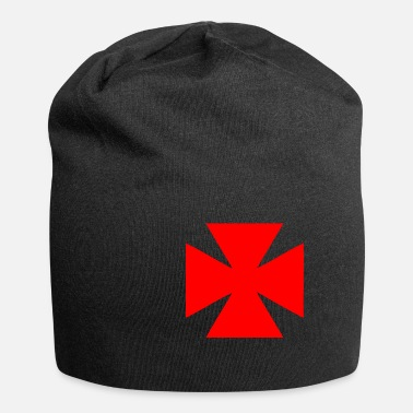 Medicine Symbol Red cross symbol of medicine - Beanie