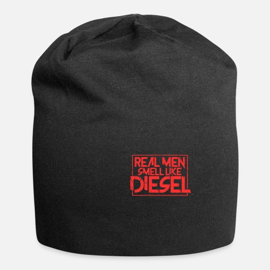 Diesel Caps & Hats - Diesel engine fuel diesel engine car gift - Beanie black
