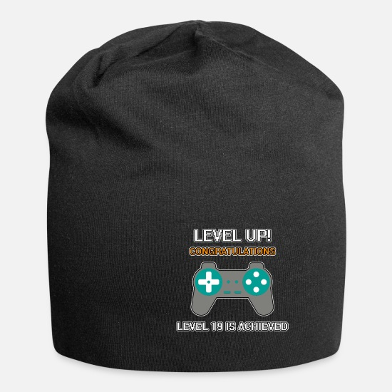 Road Caps & Hats - Level 19 Achieved - Level 19 Achieved - Beanie black
