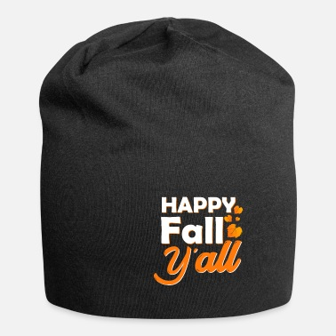 Autumn Autumn gift colorful leaves rain - Beanie