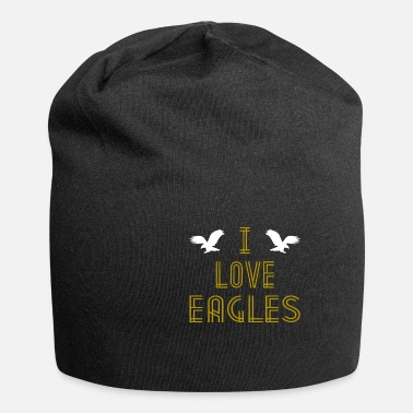I Love I Love Eagles Retro Tee Shirt - Beanie