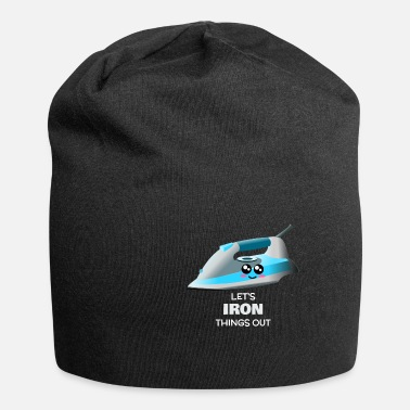Ironie Iron Iron Things Out Funny Iron Pun - Beanie