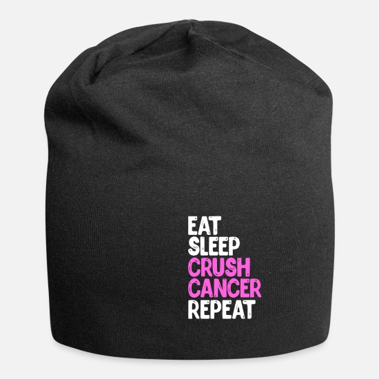 Cancer Caps & Hats - breast cancer - Beanie black