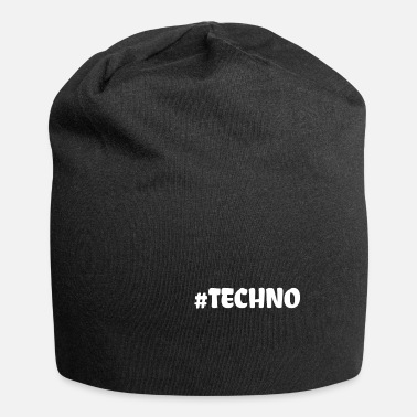 Techno Music Techno - Music - #techno# - Beanie