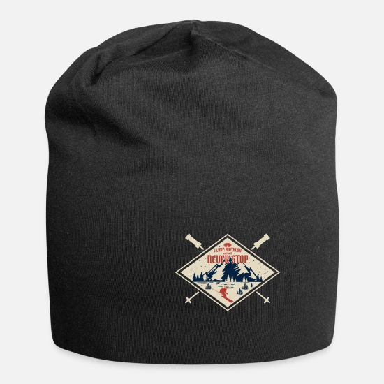 Gift Idea Caps & Hats - winter sports - Beanie black
