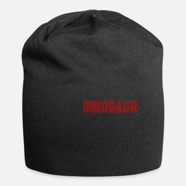 Text Dinosaur Dotted Text Design - Beanie