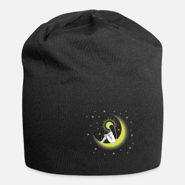 Philosophy Moon woman star nature person gift - Beanie