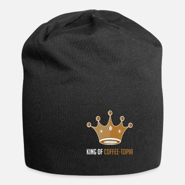 Freund King of Coffee-topia Kaffeeliebhaber Gift - Beanie