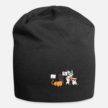 Riot Cats demo riot riot demonstration - Beanie