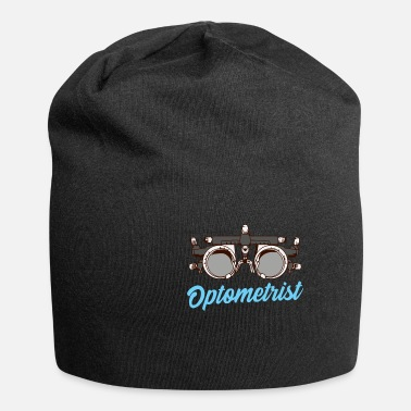 Brill Born to Be an Optometrist | Geschenk Auge Optiker - Beanie