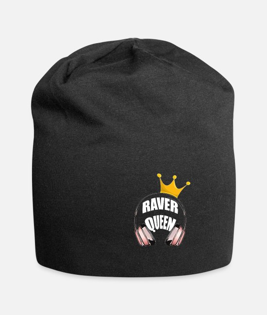 Austria Caps & Hats - Raver Queen - Beanie black