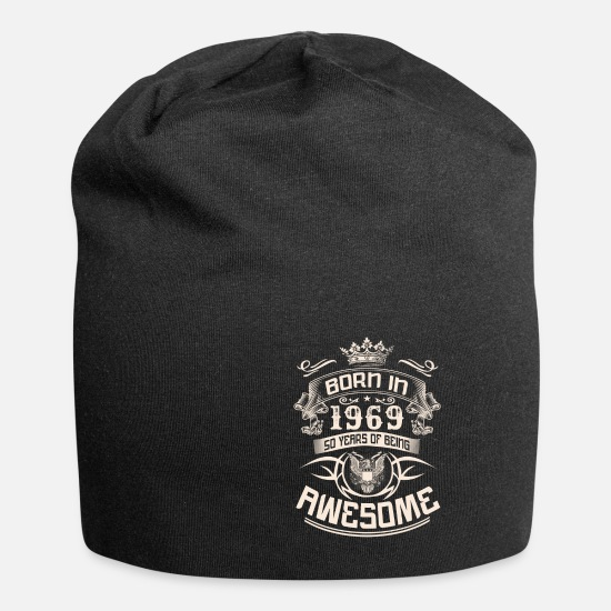 1969 Caps & Hats - 50th birthday 1969 fifty 50 years Legends - Beanie black