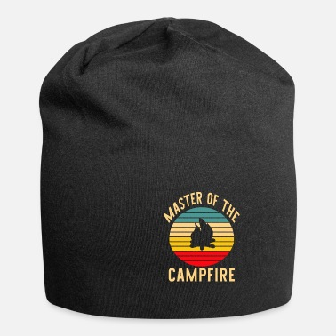 Camping campfire retro vintage - Beanie