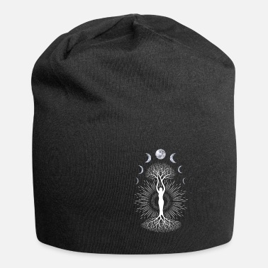 Phase Depression Moon Phase Mood Yoga Gift - Beanie