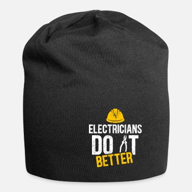Uncle Electrician witty saying profession gift idea - Beanie