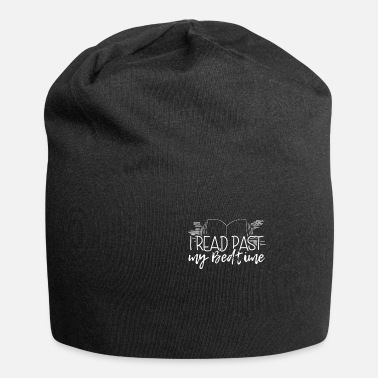 I read past my Bedtime Reading Book Books Gift - Beanie