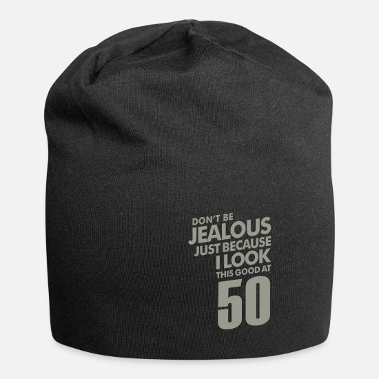 Birthday Caps & Hats - 50 Years Old Birthday Gift - Beanie black