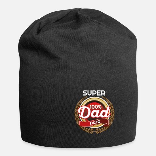 Superstar Caps & Hats - super 100 dad pure - Beanie black