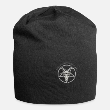 Sacred Geometry Satanic Motherfucker Occult Atheist Death Black - Beanie