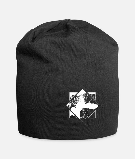 South America Caps & Hats - Salto Angel Outdoor Waterfall Venezuela Nature - Beanie black