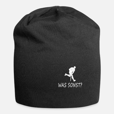 Hockey Feldhockey, schusskreis, hockey, shoot out, puck - Beanie