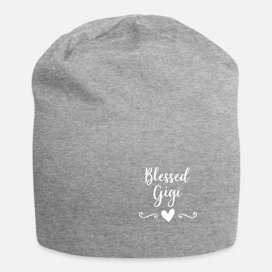 Birthday Caps & Hats - Blessed Gigi - Beanie heather grey