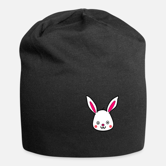 Birthday Caps & Hats - bunny - Beanie black