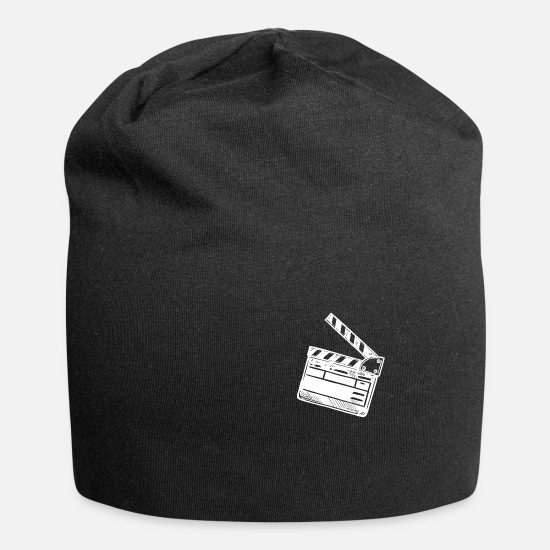 Gift Idea Caps & Hats - clapperboard - Beanie black