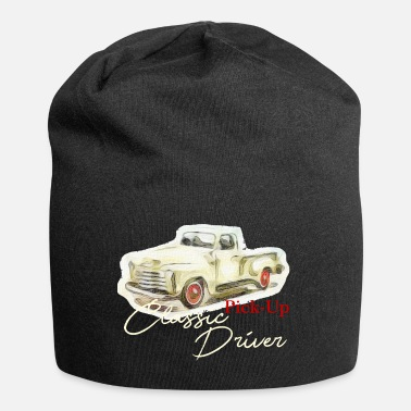 Car Classic Driver, Retro, Car, Vintage, Pickup - Beanie