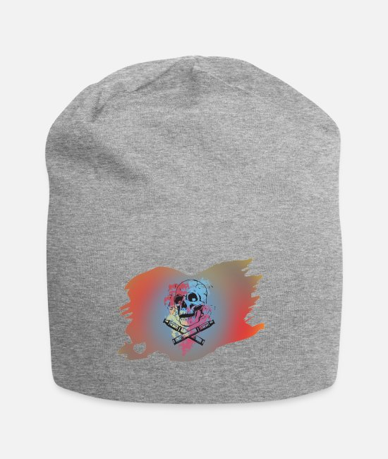 Vaping Caps & Hats - Pirate - Beanie heather grey